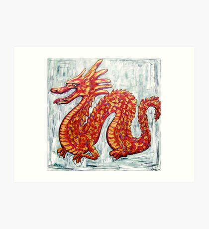 Luck Dragon Art Print