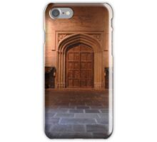 The great hall at Hogwarts  iPhone Case/Skin