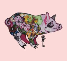 Inked piggy One Piece - Long Sleeve