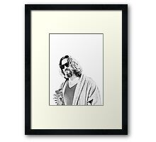 The Big Lebowski -The Dude Framed Print