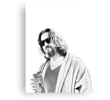 The Big Lebowski -The Dude Canvas Print