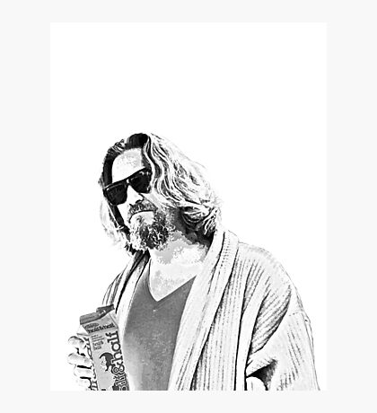 The Big Lebowski -The Dude Photographic Print