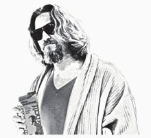 The Big Lebowski -The Dude by Graham Lawrence