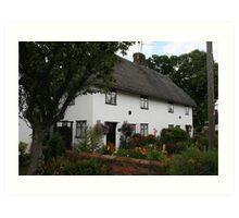 Thatched House Finchingfield Art Print