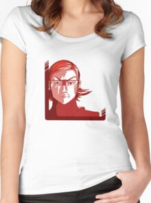 Maxie Pokemon ORAS Team Magma Women's Fitted Scoop T-Shirt