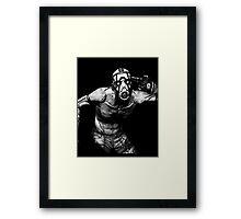 Psycho Borderlands - Nerdy Cool Design Framed Print
