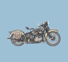 1936 Harley Davidson Motorcycle Kids Clothes