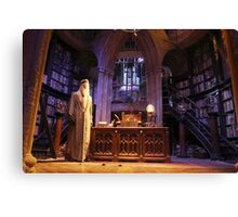 A wise old wizard, Albus Dumbledore Canvas Print