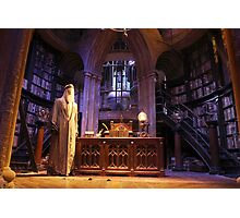 A wise old wizard, Albus Dumbledore Photographic Print