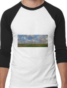FOOTBALL FIELD - PANORAMA Men's Baseball ¾ T-Shirt