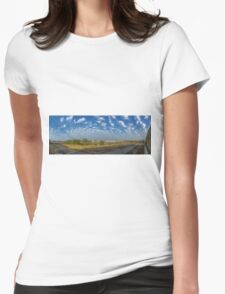 KAUST - PANORAMA Womens Fitted T-Shirt