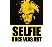 Selfie once was art by Dratui