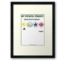 MY CHEMICAL ROMANCE - KILLJOYS Framed Print