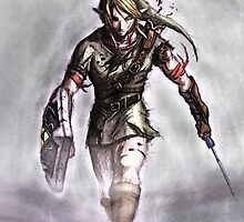 Link Walking - the Legend of Zelda by peetamark