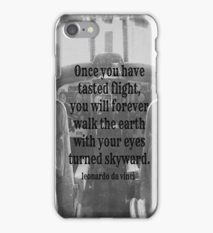 Da Vinci Flight iPhone Case/Skin