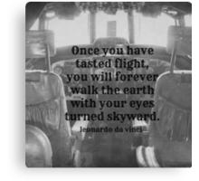 Da Vinci Flight Canvas Print