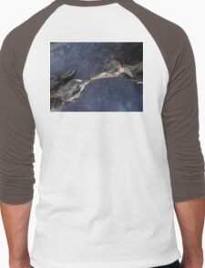 The death kiss of two birds Men's Baseball ¾ T-Shirt