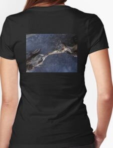 The death kiss of two birds Womens Fitted T-Shirt