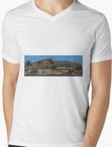 KAUST - PANORAMA Mens V-Neck T-Shirt