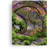 The Knander Forests Of Planet Crowlar Canvas Print