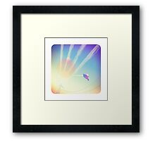 Jet Streams Framed Print