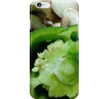 Mushrooms and Peppers iPhone Case/Skin