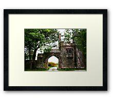 Gatehouse Framed Print
