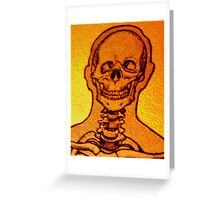 Numb Skull  Greeting Card