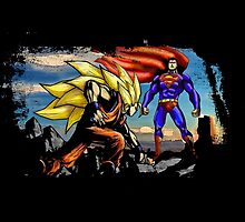 Goku Vs Superman - Epic Funny Battle  by peetamark