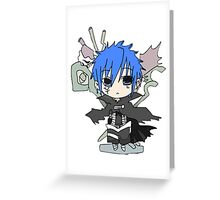 Jellal chibi Greeting Card