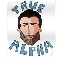 True Alpha Poster