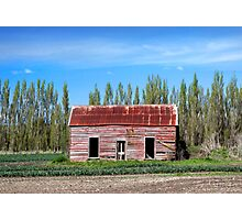... Red Barn! Photographic Print