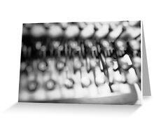 Remington Rand Greeting Card