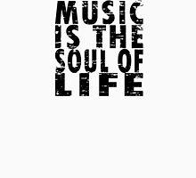 Music Is The Soul Of Life Men's Baseball ¾ T-Shirt