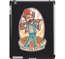 Old Time Batter iPad Case/Skin