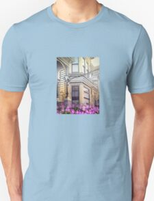 SF Victorian Detail with Flower T-Shirt