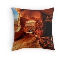 Ancient Puebloan Granary Throw Pillow