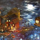 SOLD - In The Wee Small Hours by Shauna  Noble