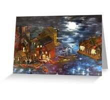 SOLD - In The Wee Small Hours Greeting Card