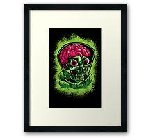 Martian Madness Framed Print