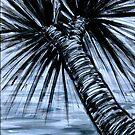 Pandanus Palms I by Kylie Blakemore