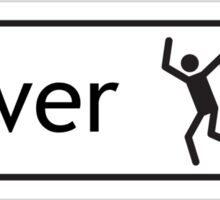 Raver Signpost Sticker