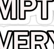 J-E-E-P Sticker