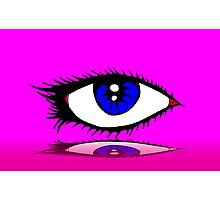 THE LASHES Photographic Print