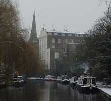The canal in winter by powerball225