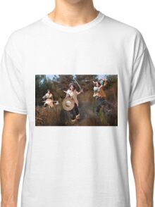 3 wild Barbarian Attacks Classic T-Shirt
