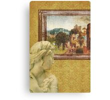 Looking Back Canvas Print