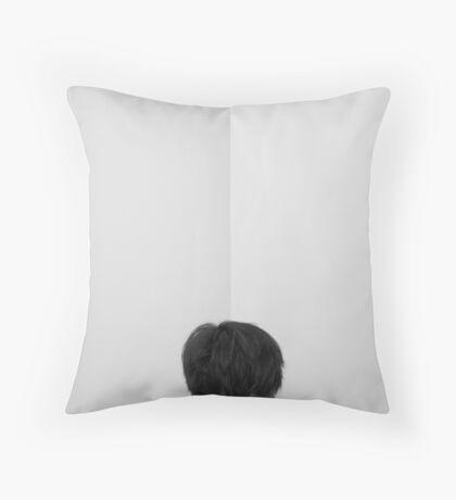 The Portrait. Throw Pillow