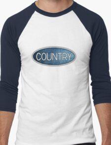 Country music White Men's Baseball ¾ T-Shirt