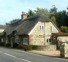37 - THATCHED COTTAGE, GODSHILL  (D.E. 2004) by BLYTHPHOTO